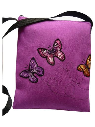 torebka z motylkami
