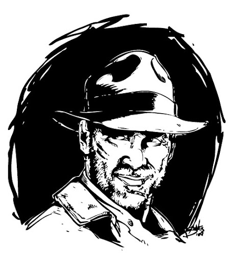 Indiana Jones coloring pages