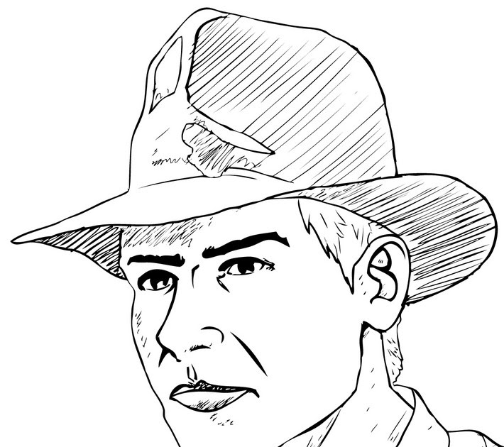 indiana jones 4 coloring pages - photo#17