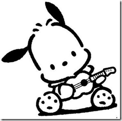 Pochacco coloring pages