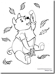 Coloring pages of Winnie The Pooh
