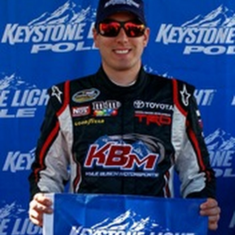 Kyle Busch on Pole for TheRaceDayRaffleSeries.com 175