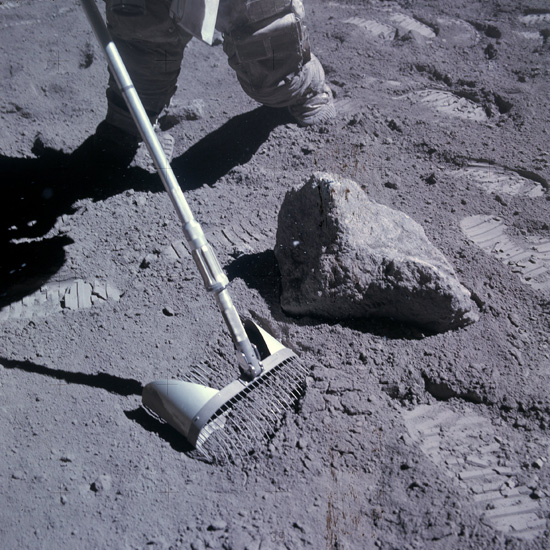 moon soil