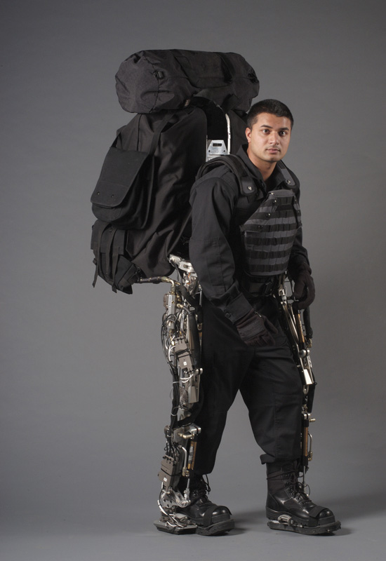 BLEEX Berkeley Lower Extremity Exoskeleton