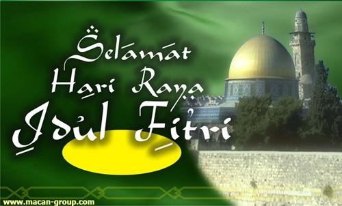Koleksi Gambar Ucapan Selamat Hari Raya Idul Fitri
