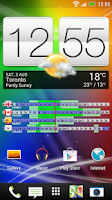 Screenshot of World Clock Widget (Trial)