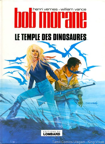 Bob Morane The Temple Of Dinosurs Lion 55 Cover Reference