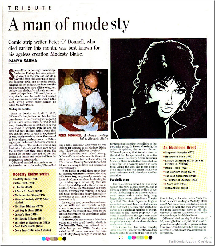 The Hindu Dated 23rd May 2010 Sunday Special Page 02 MB Peter Demise