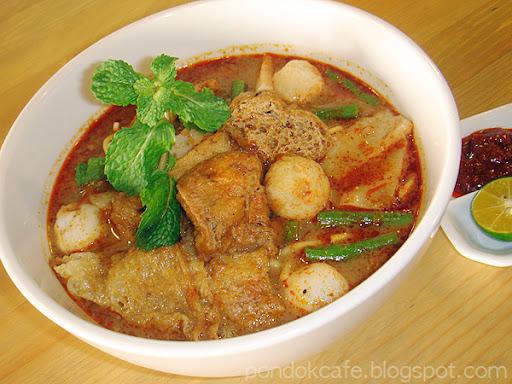 curry laksa noodle Pondok cafe
