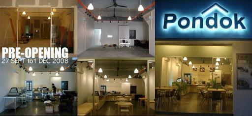 pondok cafe work in progress photos