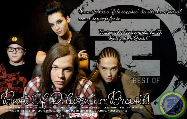 Best Of Deluxe no Brasil