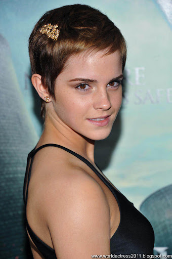 emma watson short hair pics. emma watson short hair 2010. Hot Trends short haircut for