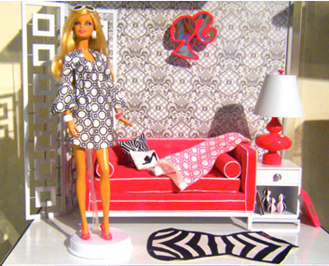 Happy 50th Barbie The Jonathan Adler edition Barbie