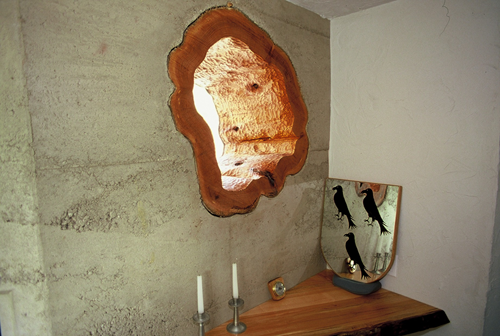 Rammed Earth Wall Construction