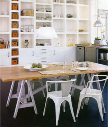 Bookshelves in Kitchens