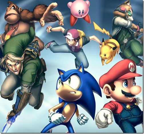 Gamepro_Cover___Smash_Bros_by_UdonCrew