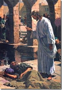 Jesus y el Paralitico
