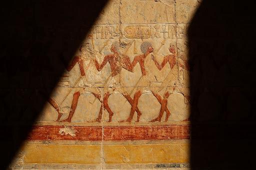 Temple de Deir el Bahari o temple de Hapsetsut, Luxor, Egipte