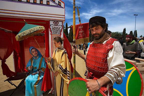 Tàctiques militars del Baix Imperi. Cohors I Gallica (País Basc). Tàrraco Viva, el festival romà de Tarragona. Tarragona, Tarragonès, Tarragona