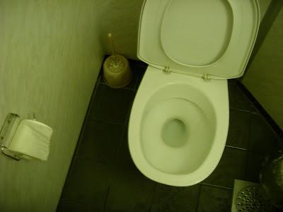 ロシア通関のトイレ