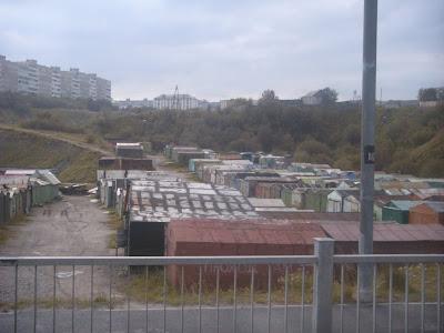 団地の住人用倉庫