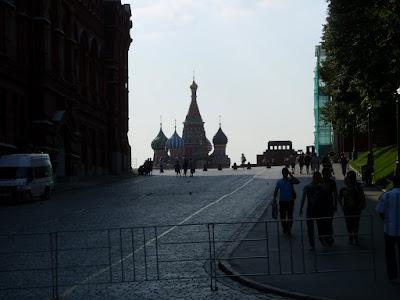 聖ワシリイ大聖堂遠景