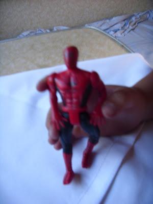 スパイダーマン人形