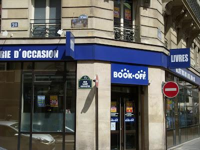 パリのブックオフ