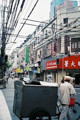 上海の小道