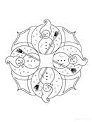 Fiestas . mandalas navidad (10)