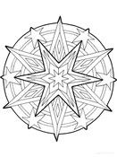 Fiestas . mandalas navidad (7)