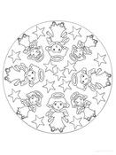 Fiestas . mandalas navidad (12)