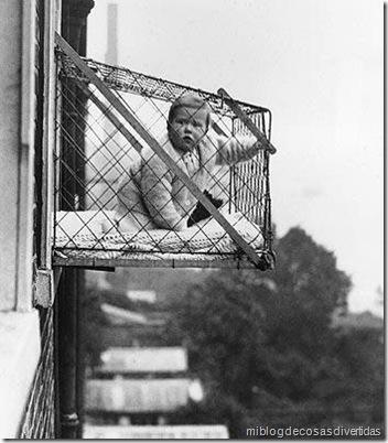 jaula de niños