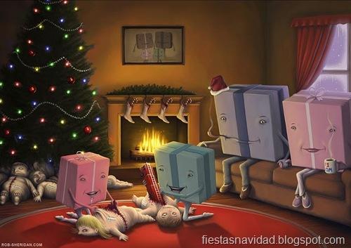 humor negro navidad