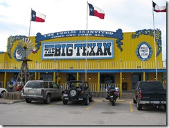 136 Rte 66 Big Texan Amarillo TX