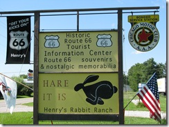 16 Rte 66 Henry's Rabbit Ranch Staunton IL