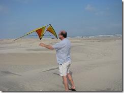 5444 Assembling my Kite South Padre Island Texas