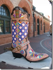 1118 Big Boot at Visitors Center Cheyenne WY