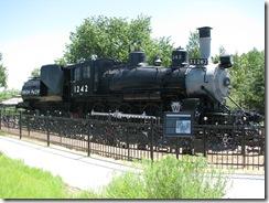 1203 Engine 1242 Cheyenne WY