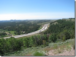 1305 View of I 80 From Summit Hill WY