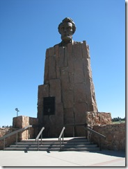 1334 Lincoln Monument at Summit Rest Area  I 80 WY