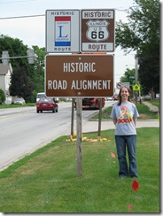 0174 Plainfield IL Lincoln - Route 66 Alignment