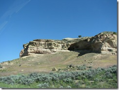 1715 Castle Rock as viewed from I 80 Utah