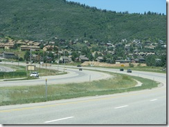 1805 Homes on Mountainside from I 80 Kimball Junction UT
