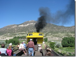 2139 Steam Locomotive Engine # 93 Train Ride Ely NV