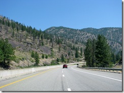 5239 View from I-90 between St Regis & Missoula MT