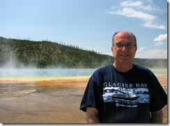 5611 Midway Geyser Basin Excelsior Grand Prismatic Spring Yellowstone National Park