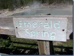 9114 Emerald Spring Norris Geyser Basin YNP WY