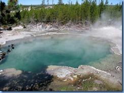 9115 Emerald Spring Norris Geyser Basin YNP WY