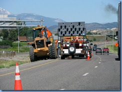 9322 Road Construction I-90 North of Bozemand MT
